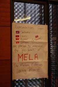 MELA representatives
